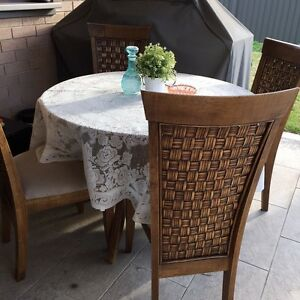 4 seater dining table & chair St Marys Penrith Area Preview