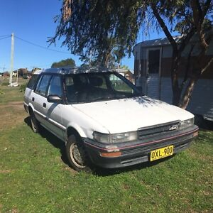 Toyota AE95 4X4  5 Door Wagon Wingham Greater Taree Area Preview