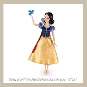 Disney Snow White Classic Doll with Bluebird Figure - 12'' ((30cm) $27 Baldivis Rockingham Area Preview