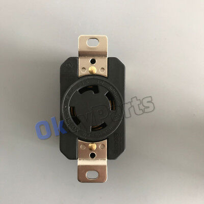 Ul Approved Nema L14-30r 4p Twist Lock Locking Receptacle Female Us Generator