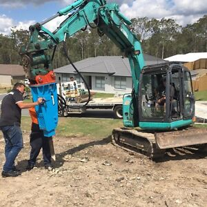 Excavation rock breaker Upper Coomera Gold Coast North Preview