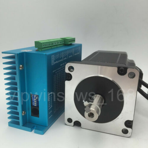 nema34 8n m stepper motor closed loop 2ph hybrid servo motor driver kit cnc mill ebay. Black Bedroom Furniture Sets. Home Design Ideas