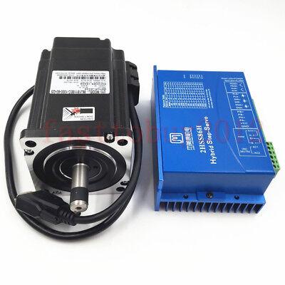 Hybrid Servo Closed Loop Stepper Motor Drive Nema34 8.5nm 6a 2ph Encoder System
