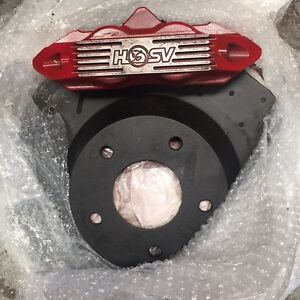 HARROP 4 POT FRONT CALIPERS AND ROTORS Maidstone Maribyrnong Area Preview