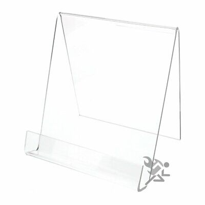 OnFireGuy Acrylic Book Display Stand Easel for Items up to 7