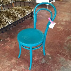 Teal Bentwood Chair Highgate Perth City Area Preview