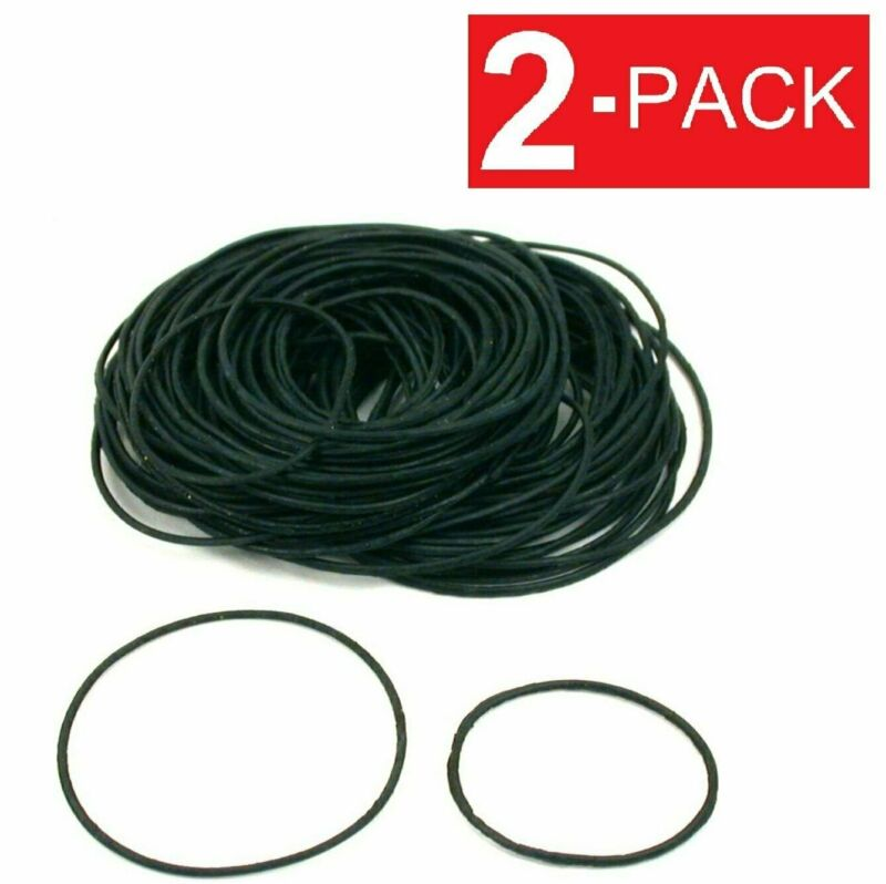 2-Pack Rubber Watch Case Back O Ring Round Gasket 12mm-38mm (0.6mm thick)