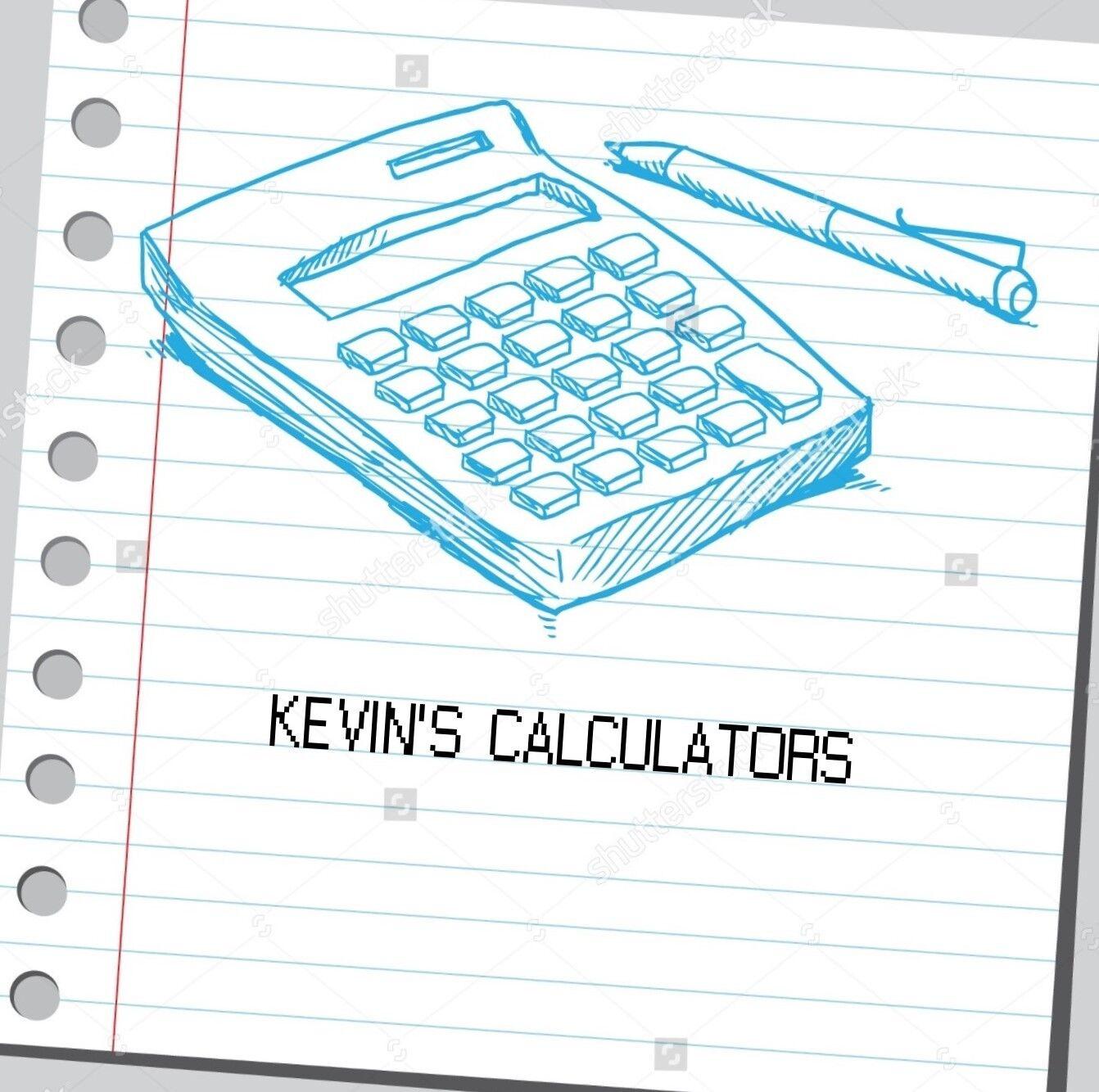 Kevin's Calculators