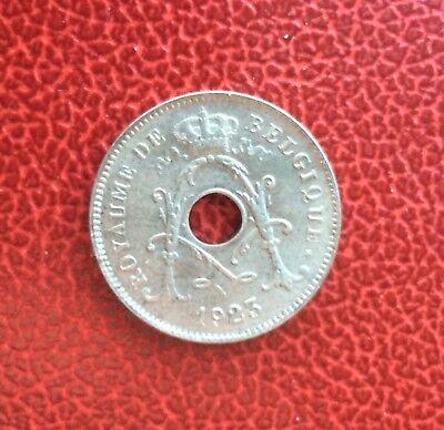 Belgique - Albert Ier - Magnifique  monnaie de 10  Centimes 1923 FR