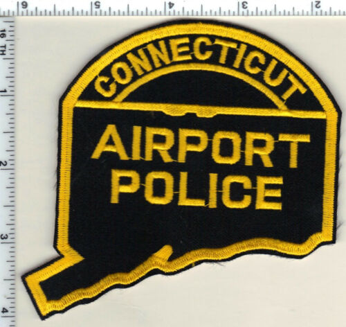 Airport Police (Connecticut) Shoulder Patch - new from 1986