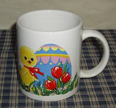 Vintage McCrory Five and Dime Stores Easter Egg and Chick Mug