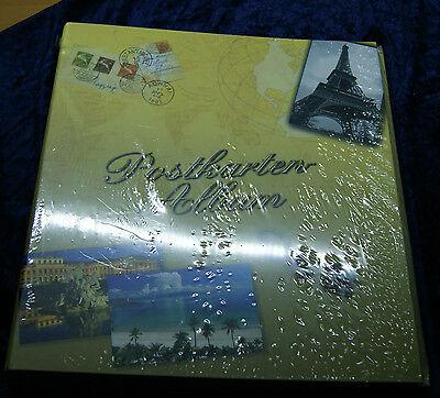 Safe 7920 Postkarten-Album inkl. 20 Einsteckblättern für bis zu 160 Postkarten