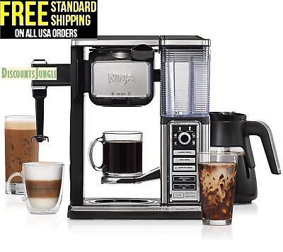 Ninja CF091 Coffee Bar Programmable Coffee Maker Exploit Frother w/ 6 Brew Sizes