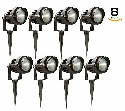 Westgate Led Outdoor Landscape Garden Spotlights - 12v - Aluminum Housing
