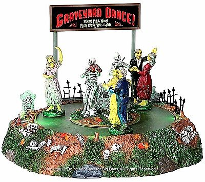 Lemax 34601 GRAVEYARD DANCE Spooky Town Table Accent Animated Halloween Decor I](Spooky Halloween Dance)