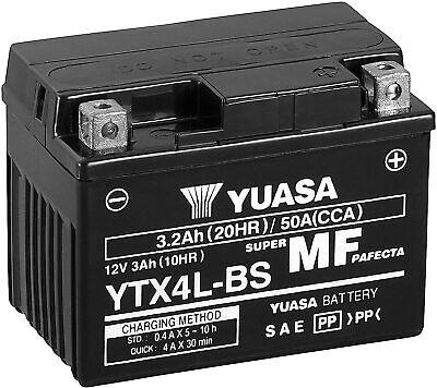 Batería Moto Yuasa YTX4L-BS 12V 3.2Ah