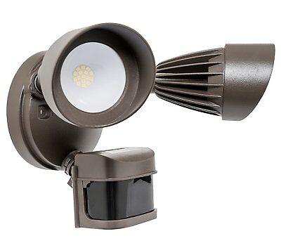 Westgate Flood Light Dual 2 Head Security 24w Fixture- Motion Sensor