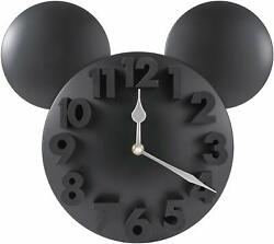 Mickey Mouse Wall Clock Non Ticking with 3D Numbers     P1