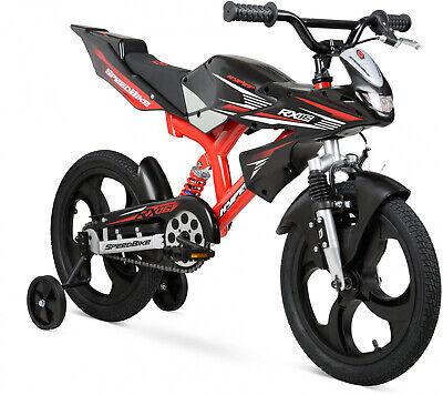 16' Boys Bmx Bicycle - Boys 16 Inch Hyper Speed Bike BMX Style Kids Bike