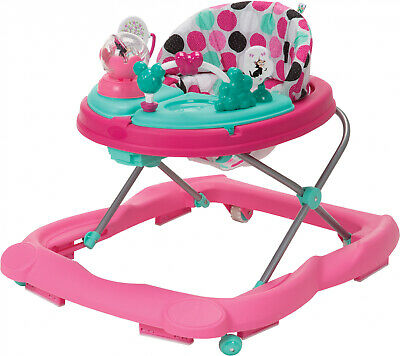 Disney Baby Music and Lights Walker With Activity Tray, Minnie Dotty