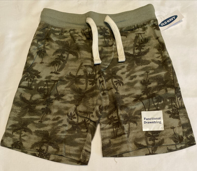 Old Navy Toddler NWT Green Drawstring Shorts size 5T