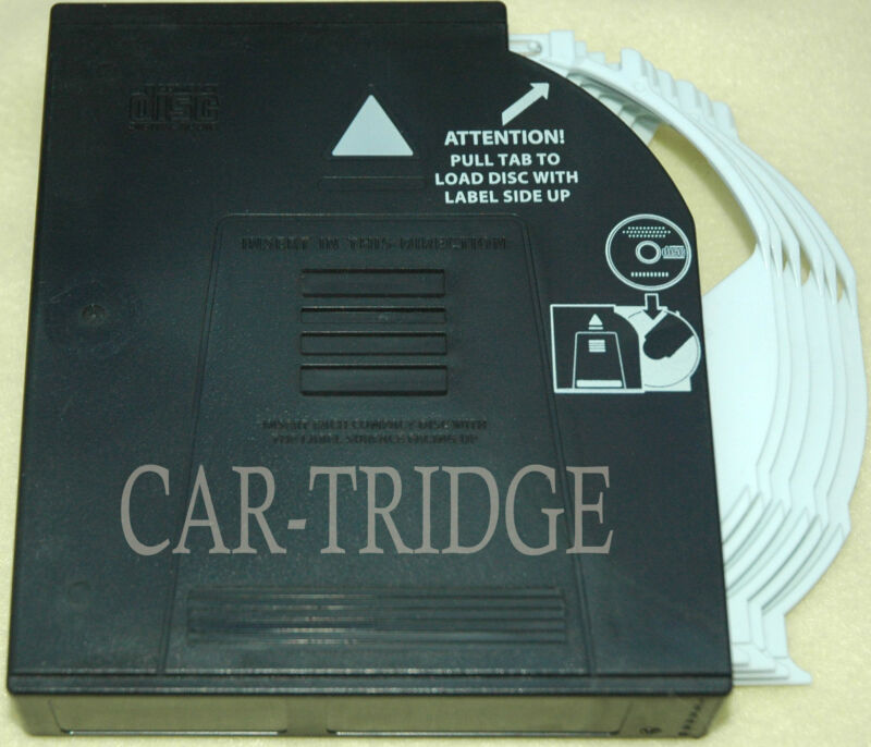 MAGAZINE CARTRIDGE FOR INFINITI NISSAN 6 DISC CD CHANGER CLARION 2007-12 G35 G37