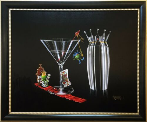 "Michael Godard ""on The Throne"" 