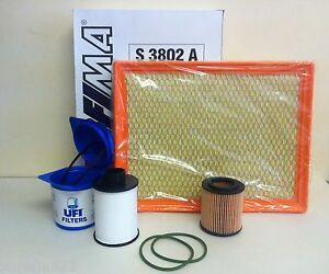 Vauxhall Vectra C 1.9 CDTI DIESEL SERVICE KIT OIL AIR FUEL FILTER