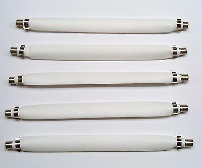 5 Pack Flat Coax Jumper Cable Over/under Doors/windows
