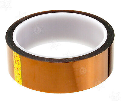Heat Resistant High Temperature Adhesive Polyimide Kapton Tape Roll 30mm33m