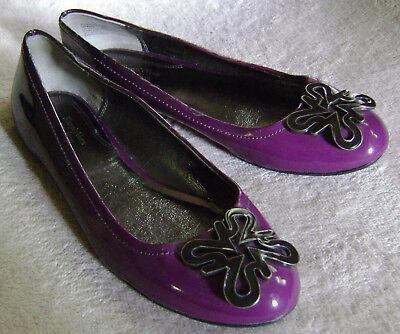 Women's Simply Vera Vera Wang Purple Oxford Flats Casual Dre