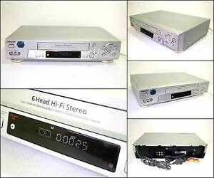 SONY SLV-EZ715 6 HEAD PAL NTSC VHS VCR Tape Player Melville Melville Area Preview