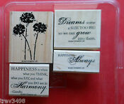 Rubber Stamp Lot Sayings