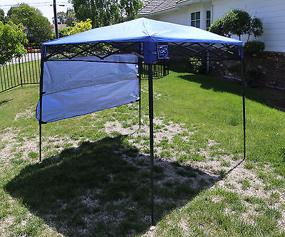 Bravo Sports Quik Shade Ultra Compact 6' X 6' Blue Backpack Canopy 157433       Bravo Sports Canopy