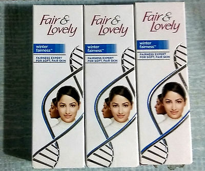 3 x Fair and Lovely Winter Fairness Cream  25 gm  Each at best price free