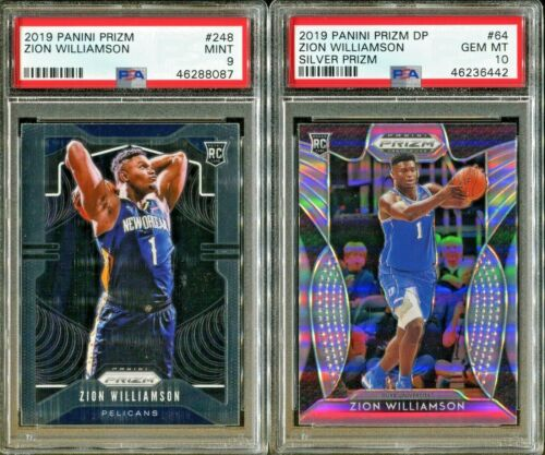 Absolute Mystery Pack Patch Auto Basketball Cards Zion Williamson Rookie PSA 10