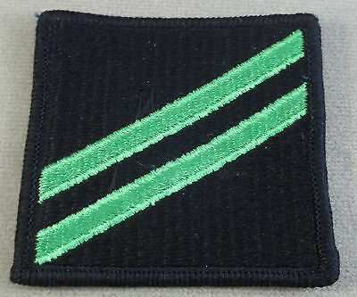 US Navy Airman Apprentice Group Rate E-2 All Embroidered With Merrowed Edge