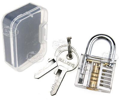 Training Tool Exercise Practice Tool Cutaway Transparent Lock Helpful