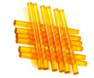 12PCS Professional Hair Extensions Keratin Gun Bond Glue Sticks Yellow USA Stock