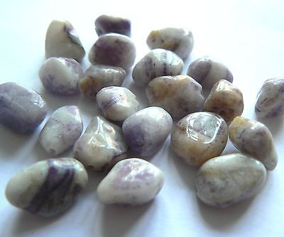 Beads Purple Flower Stone Jasper 7-13mm Nuggets and Mis-shapes x 20 pieces