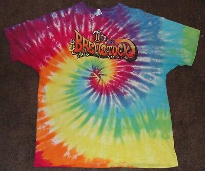 1995 Brewstock Tie Dye Vintage Concert Tour Shirt XL Deftones The Posies