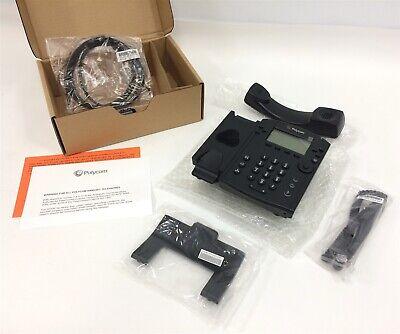 New - Open Box Polycom Vvx310 2200-46161-019 Poe 6-line Voip Telephone