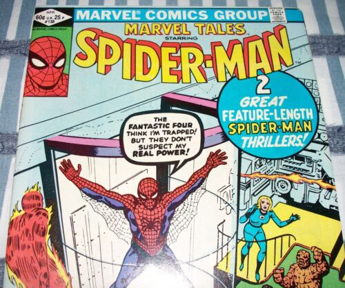 The AMAZING SPIDER-MAN #1 Reprint in Marvel Tales #138 from Apr 1982 in VF- DM