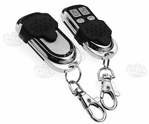 2PCS 868MHZ Copy Code Remote Cloning Electronic Key Fob Garage Door for Hormann