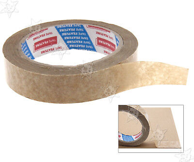 24mm X 50m Brown Kraft Paper Tape For Carton Packaging Painting Shield