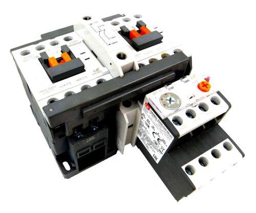 LSis Reversing Motor Starter 2HP @ 480V, 2.5-4 Amp Overload 120V Coil UL