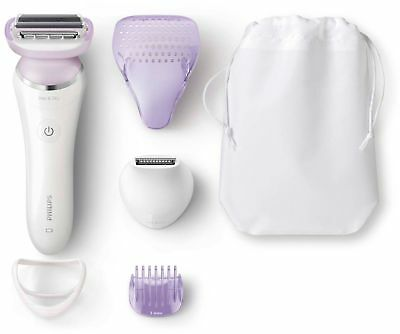 NEW Philips SatinShave Prestige Wet and Dry BRL170/50 5 Acce
