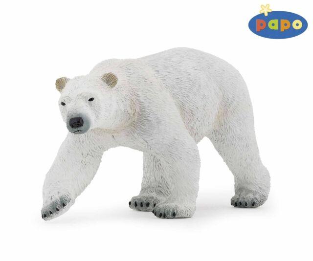 Eisbär 12 cm Wildtiere Papo 50142