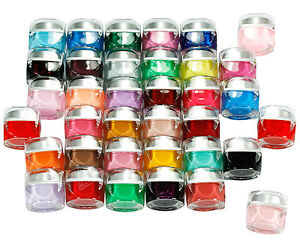 36 Amazing Colors Nail Art Tips Solid Pure UV Builder GEL Full Kit +Cleanser UK