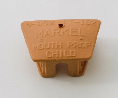 MARKEL SILICONE DENTAL TATTOO PIERCING MOUTH PROP CHILD MEDIUM SIZE LATEX FREE